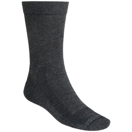 Fox River Outdoor Socks - Crew (For Men and Women) in Charcoal