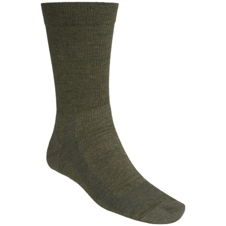 Fox River Outdoor Socks - Crew (For Men and Women) in Olive