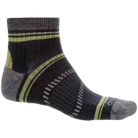 Fox River Peak Outdoor Hiking Socks - Quarter Crew (For Men and Women) in Grey - Closeouts