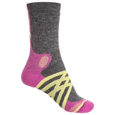 7e4a558314ac1 Fox River Prima Criscross Medium Socks - Crew (For Women) in Charcoal -  Closeouts