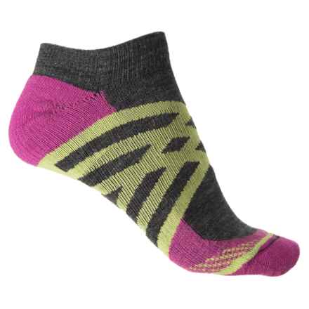 Fox River Prima Crisscross Lightweight Socks - Ankle (For Women) in Charcoal - Closeouts