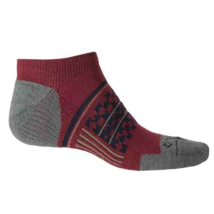 Fox River Prima Nevis Lightweight Socks - Ankle (For Men) in Maroon - Closeouts