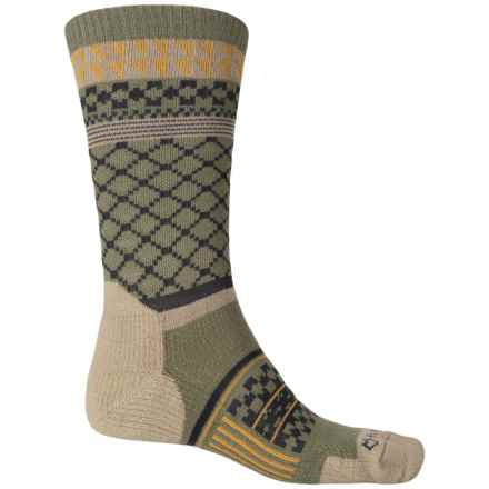 Fox River Prima Nevis Socks - Crew (For Men) in Moss - Closeouts