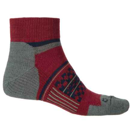 Fox River Prima Nevis Socks - Quarter Crew (For Men) in Maroon - Closeouts