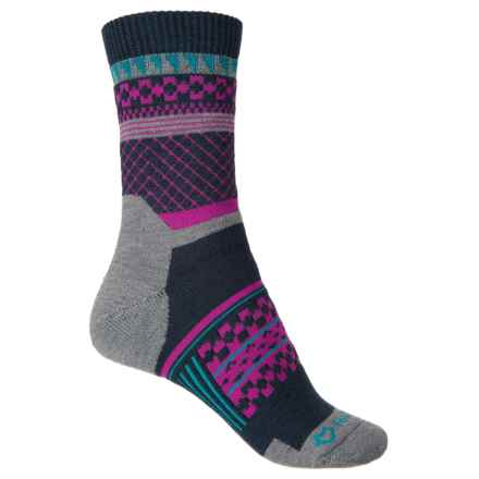 Fox River Prima Onach Socks - Midweight, Crew (For Women) in Navy - Closeouts