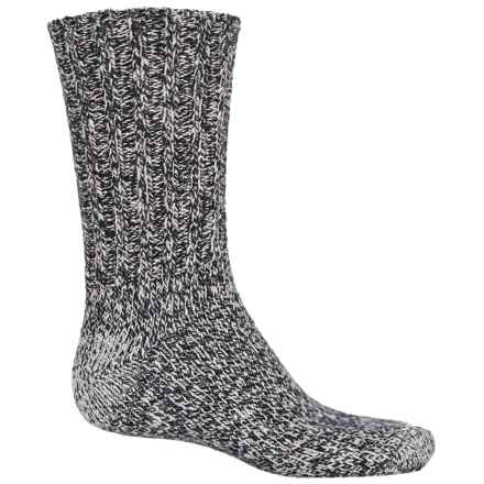 Fox River Ragg Wool Socks - Crew (For Men) in Navy Tweed - Closeouts