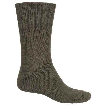 Fox River Ragg Wool Socks - Merino Wool Blend, Crew (For Men) in Olive - Closeouts