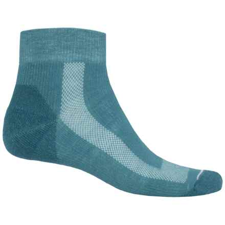 Fox River Sport Outdoor Socks - Quarter Crew (For Women) in Blue - Closeouts