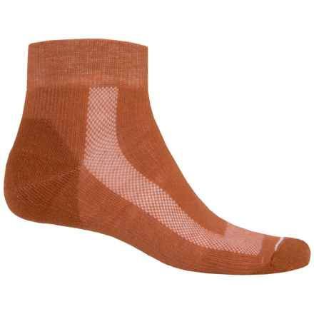 Fox River Sport Outdoor Socks - Quarter Crew (For Women) in Ginger - Closeouts