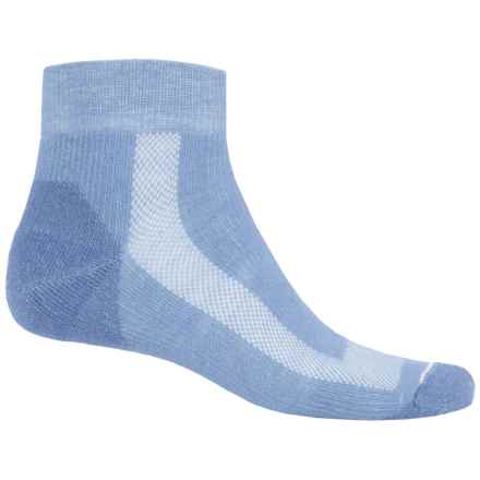 Fox River Sport Outdoor Socks - Quarter Crew (For Women) in Light Blue - Closeouts