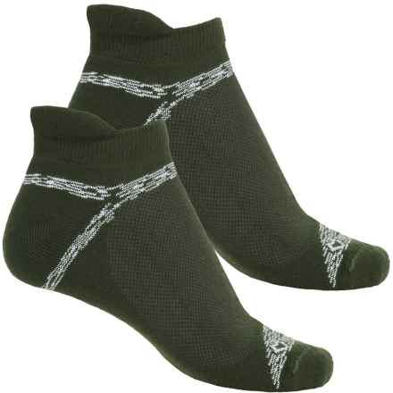 Fox River Sport Tab Socks - 2-Pack, Ankle (For Women) in Olivewood - Closeouts