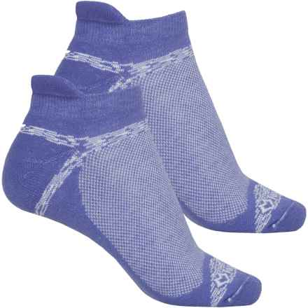 Fox River Sport Tab Socks - 2-Pack, Ankle (For Women) in Purple - Closeouts