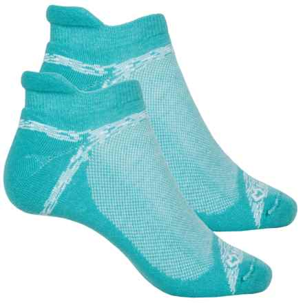 Fox River Sport Tab Socks - 2-Pack, Ankle (For Women) in Teal Plume - Closeouts