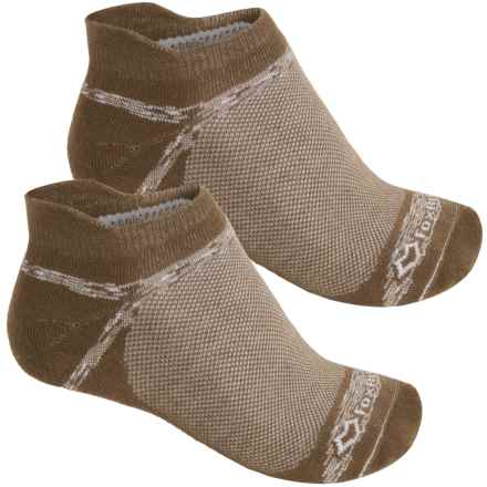Fox River Sport Tab Socks - 2-Pack, Below the Ankle (For Men and Women) in Canteen - Closeouts