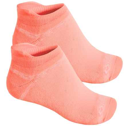 Fox River Sport Tab Socks - 2-Pack, Below the Ankle (For Men and Women) in Coral Sunrise - Closeouts