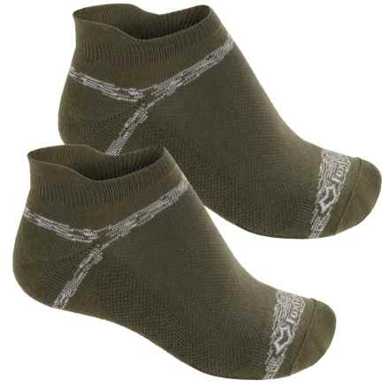 Fox River Sport Tab Socks - 2-Pack, Below the Ankle (For Men and Women) in Dark Olive - Closeouts
