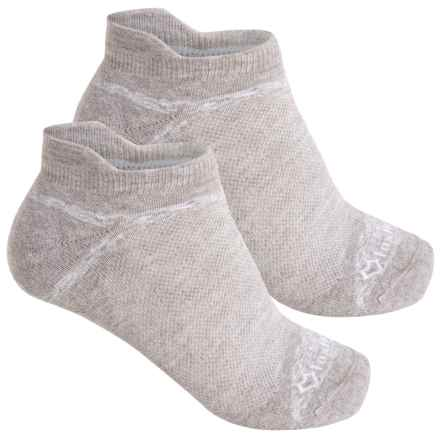 Fox River Sport Tab Socks - 2-Pack, Below the Ankle (For Men and Women) in Oatmeal - Closeouts