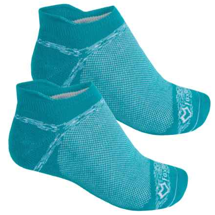Fox River Sport Tab Socks - 2-Pack, Below the Ankle (For Men and Women) in Teal - Closeouts