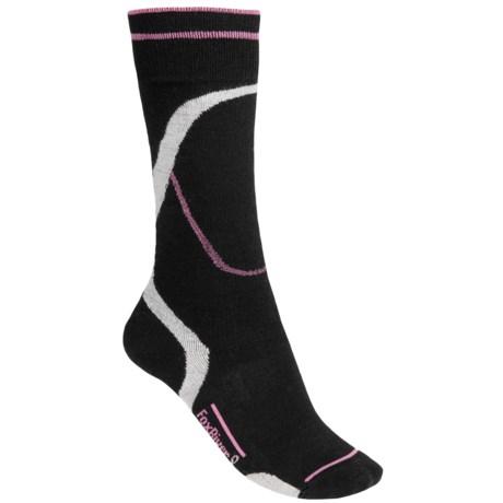 Fox River Stratus Ski Socks - PrimaLoft®-Merino Wool (For Women) in Black