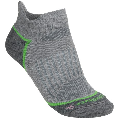 Fox River Strive Ankle Socks - Merino Wool, Lightweight (For Women) in Light Grey