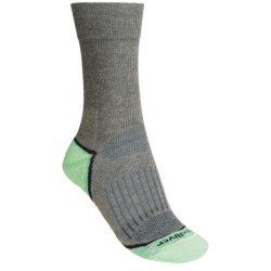 Fox River Strive Crew Socks - Merino Wool, Recycled Polyester (For Women) in Basil