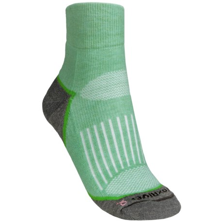 Fox River Strive Socks - Quarter-Crew (For Women) in Peapod