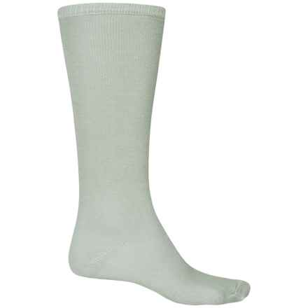 Fox River Thermal Liner Socks - 2-Pack Over the Calf (For Men and Women) in Grey - 2nds