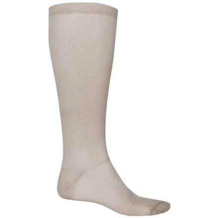 Fox River Thermal Liner Socks - Over the Calf (For Men and Women) in Beige - 2nds