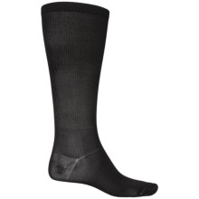 Fox River Thermal Liner Socks - Over the Calf (For Men and Women) in Black - 2nds