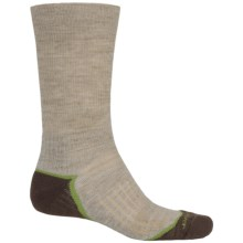 Fox River Trail Outdoor Cross Terrain Socks - Crew (For Women) in Khaki - Closeouts