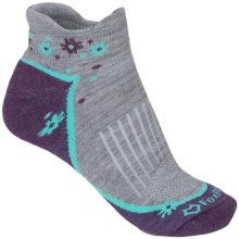 Fox River Trail Socks - Below the Ankle (For Women) in Grey - Closeouts