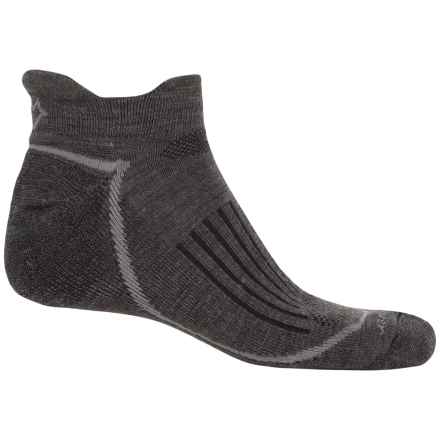 Fox River Trail Socks - Merino Wool Blend, Ankle (For Men) in Dark Charc - Closeouts