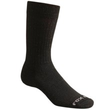 Fox River Trouser Socks - Merino Wool, Crew (For Men and Women) in Black - Closeouts