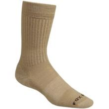 Fox River Trouser Socks - Merino Wool, Crew (For Men and Women) in Tan - Closeouts