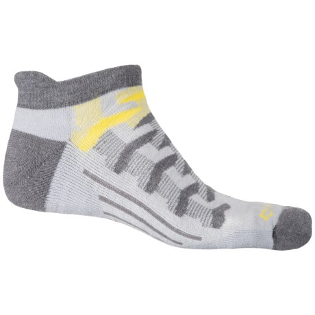 Fox River Turnpike Socks - Ankle (For Men and Women) in Grey