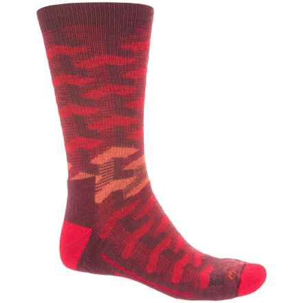 Fox River Turnpike Socks - Crew (For Men) in Red - Closeouts