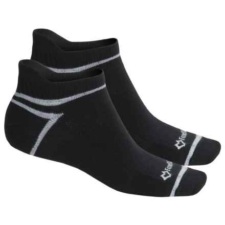 Fox River ULTRASPUN® Socks - 2-Pack, Ankle (For Men and Women) in Black - Overstock