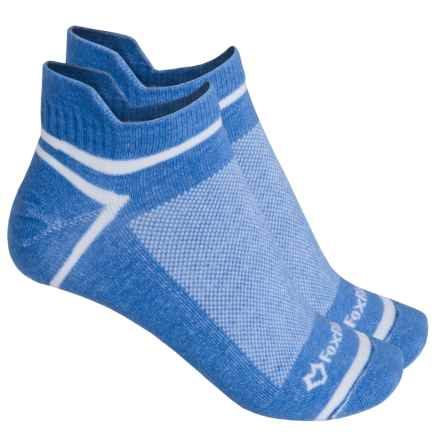 Fox River ULTRASPUN® Socks - 2-Pack, Ankle (For Men and Women) in Blue Palac - Overstock