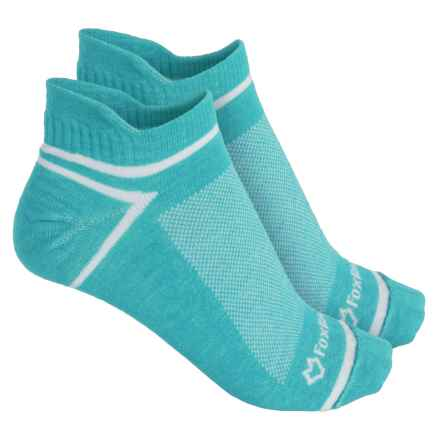 Fox River ULTRASPUN® Socks - 2-Pack, Ankle (For Men and Women) in Blue Scuba - Overstock