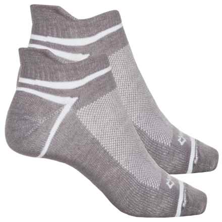 Fox River ULTRASPUN® Socks - 2-Pack, Ankle (For Men and Women) in Federal Grey - Overstock