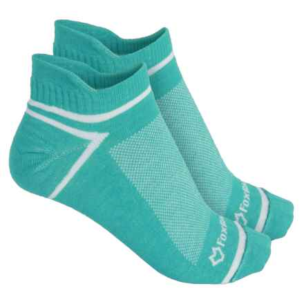 Fox River ULTRASPUN® Socks - 2-Pack, Ankle (For Men and Women) in Green Veri - Overstock