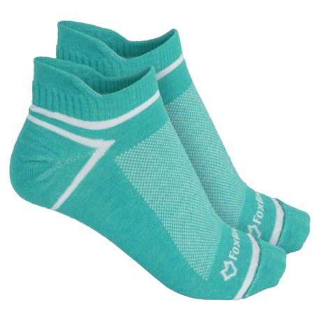 Fox River ULTRASPUN® Socks - 2-Pack, Ankle (For Men and Women) in Green Veri