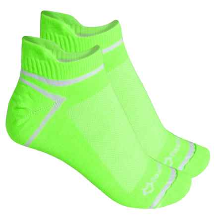 Fox River ULTRASPUN® Socks - 2-Pack, Ankle (For Men and Women) in Lime Neon - Overstock