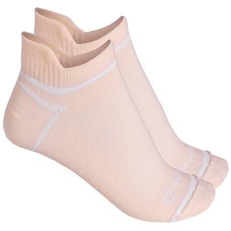 Fox River ULTRASPUN® Socks - 2-Pack, Ankle (For Men and Women) in Pink Dogwo