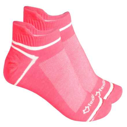 Fox River ULTRASPUN® Socks - 2-Pack, Ankle (For Men and Women) in Pink Neon - Overstock