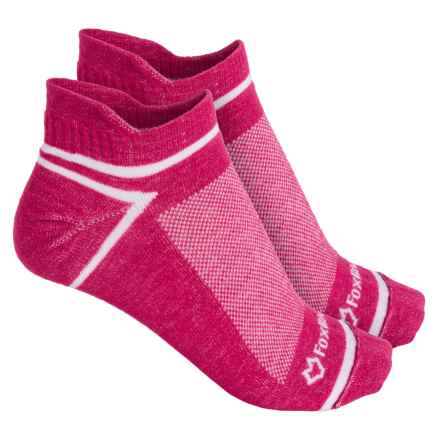 Fox River ULTRASPUN® Socks - 2-Pack, Ankle (For Men and Women) in Red Jazzy - Overstock