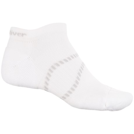 Fox River Velox LX Socks - Ankle (For Men and Women) in Blanc