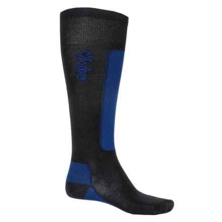 Fox River VVS® LV Ski Socks - Merino Wool, Over the Calf (For Men and Women) in Black/Royal - Closeouts