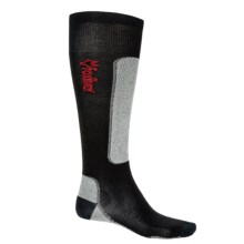 Fox River VVS® LV Ultralight Ski Socks - Merino Wool Blend, Over-the-Calf (For Men and Women) in Black/Grey - Closeouts