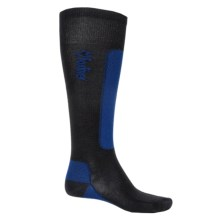Fox River VVS® LV Ultralight Ski Socks - Merino Wool Blend, Over-the-Calf (For Men and Women) in Black/Royal - Closeouts